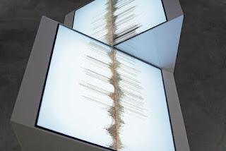 Ryoichi Kurokawa - single channel to sculptural display