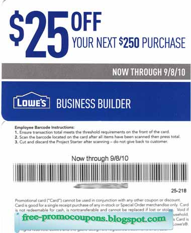 Printable Coupons 2019 Lowes Coupons