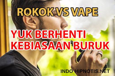 Apakah Benar Cara Berhenti Merokok Dengan Pengalihan Ke Vaping