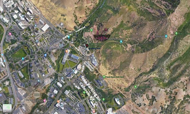Mt.VanCott parking map