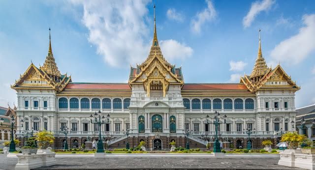 3. Cung điện Hoàng gia, Bangkok, Thái Lan