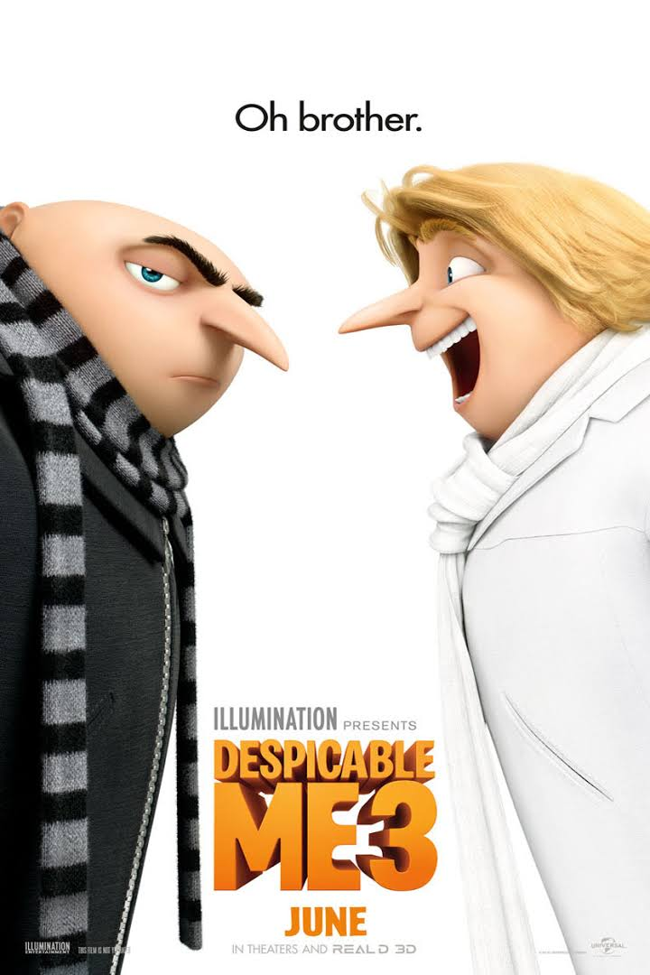 Gru Meet His Twin Brother Dru In New Despicable Me 3 Teaser Trailer