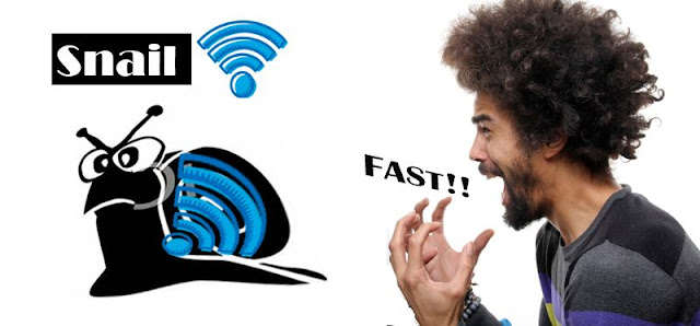 Punca dan cara Melajukan Internet WiFi Di rumah
