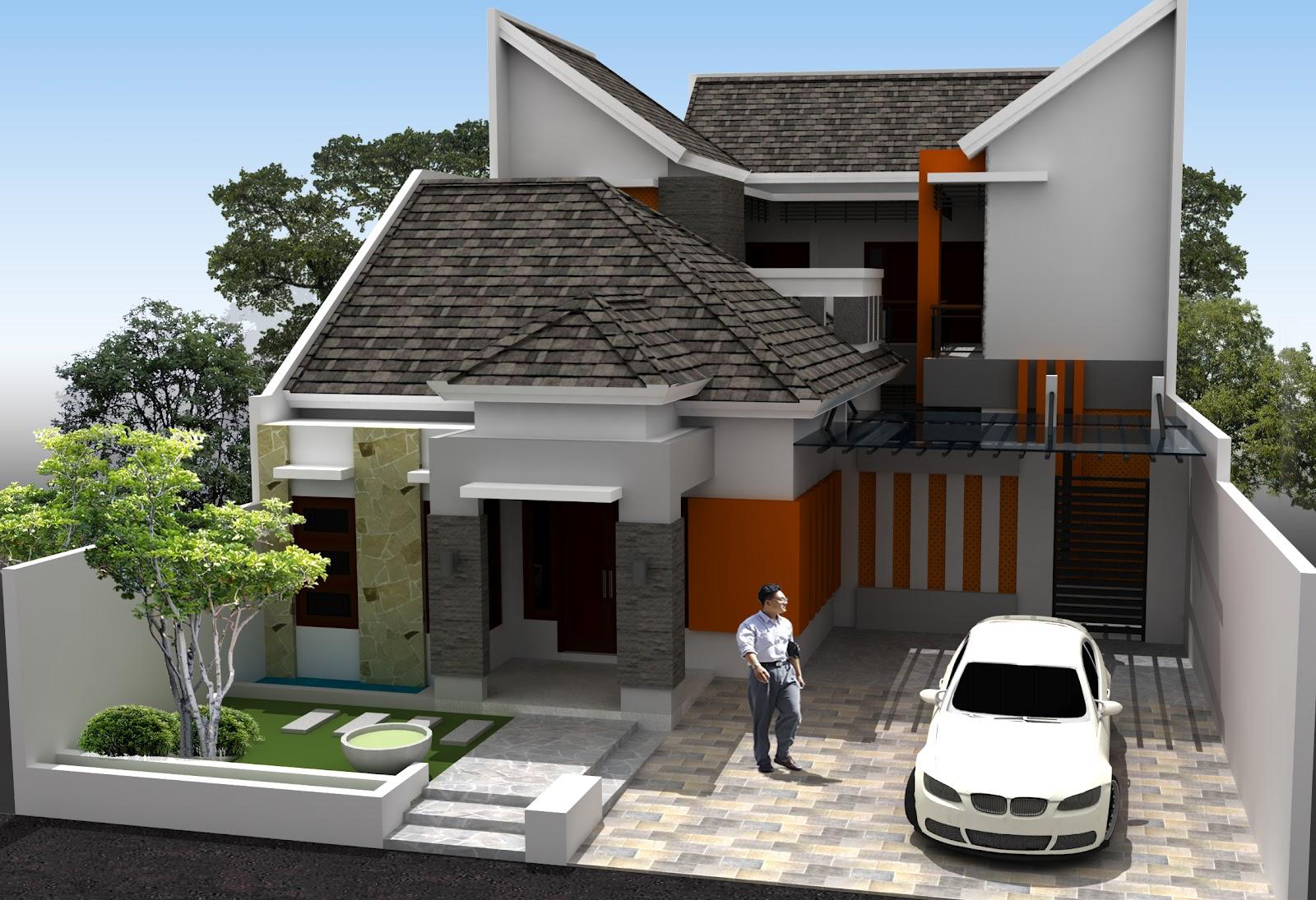 103 Aneka Gambar Rumah Minimalis Sederhana Gambar Desain Rumah