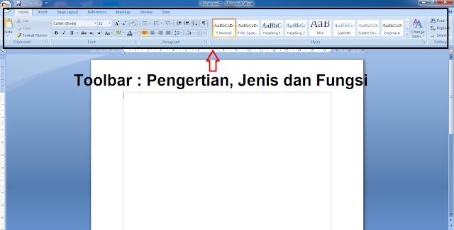 Apa itu Toolbar? Pengertian Toolbar dan Fungsinya, apa yang dimaksud dengan toolbar, toolbar adalah, jenis jenis toolbar, cara kerja toolbar, fungsi toolbar, kegunaan toolbar