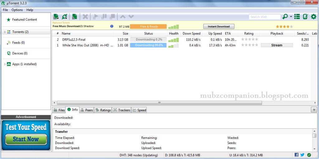 utorrent 3.2.3 64 bits