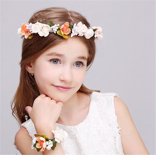 Beautiful Hairstyles for Flower Girls