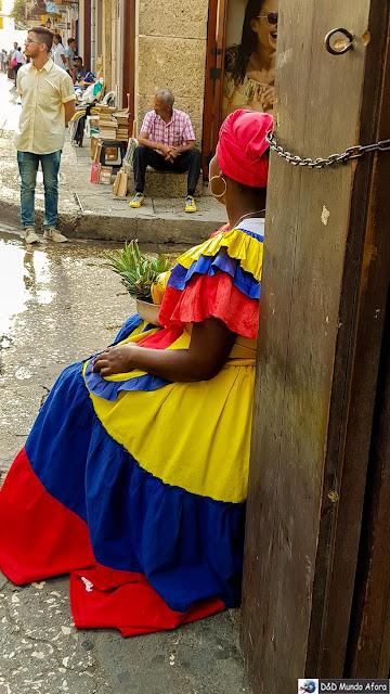 Palenquera - O que fazer em Cartagena, Colômbia