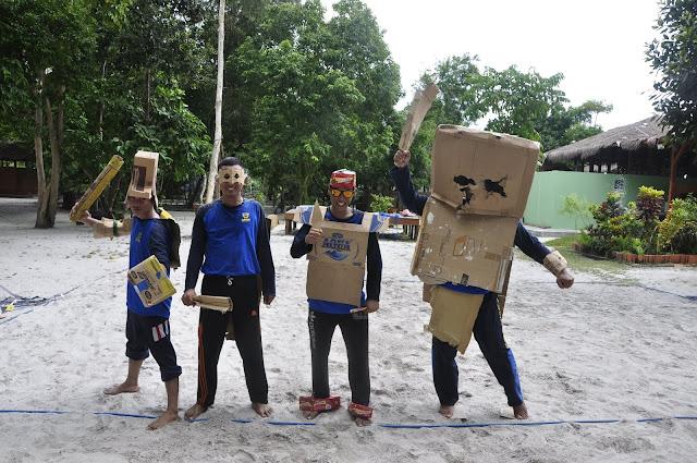 Family Gathering di Leebong island KPPBC Pratama Belitung