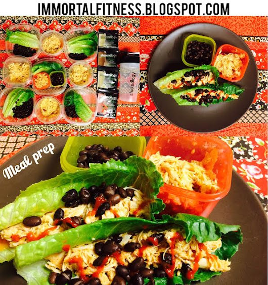21 day fix Slow Cooker Buffalo Chicken Lettuce Wraps recipe