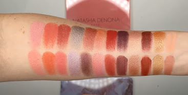 Natasha Denona Love vs Makeup Revolution Forever Flawless Unconditional Love swatches