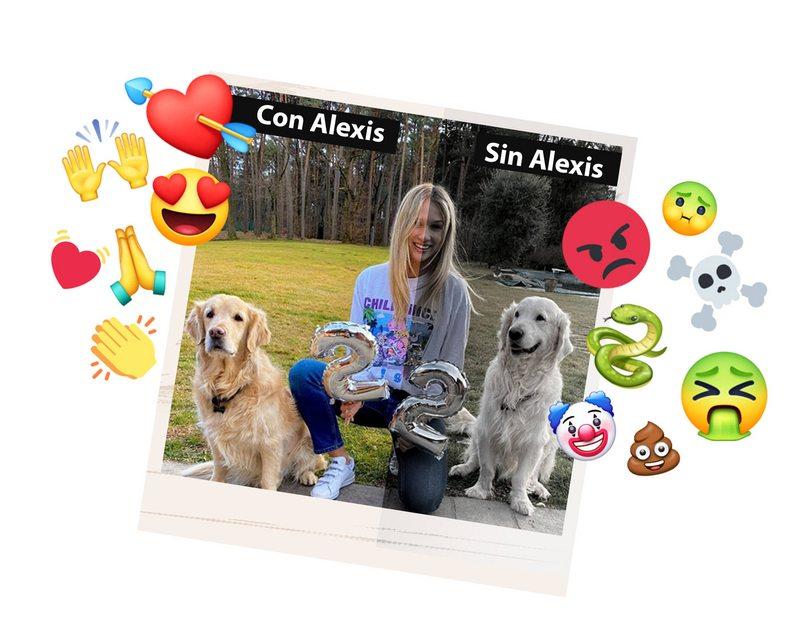 análisis a emojis chilenos en foto de la ex de Alexis