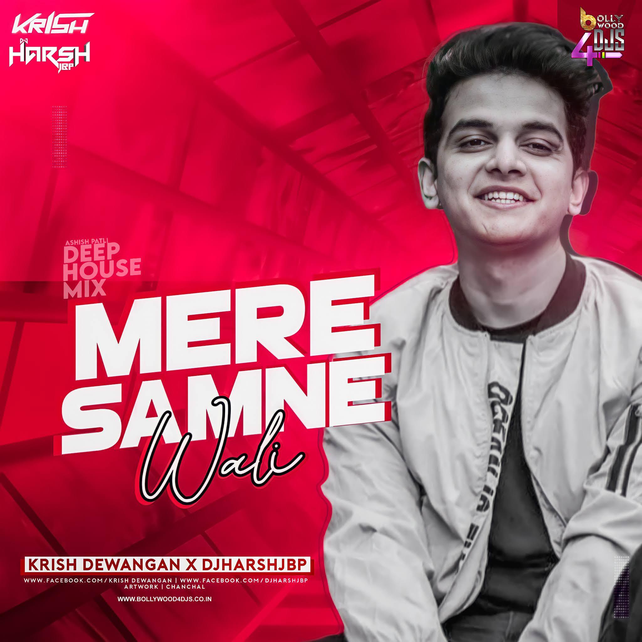 Mere Samne Wali Khidki Mein (Deep House Mix) Krish Dewangan X Dj Harsh Jbp
