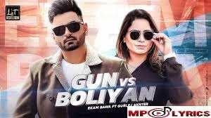 Gun vs Boliyan Ekam Bawa Gurlej Akhter Song Lyrics
