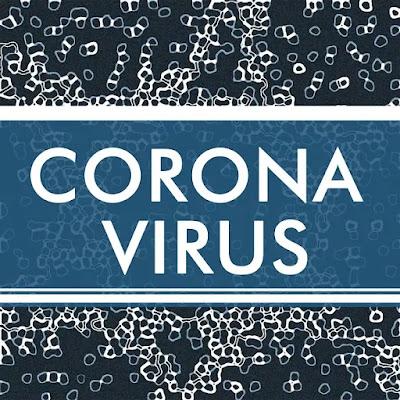 Corona Virus alert graphic