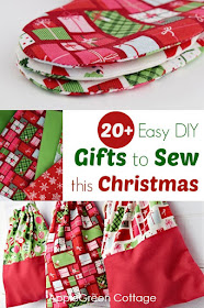 20 Easy Diy Christmas Gifts To Sew This Christmas