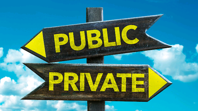 Difference between public sector accounting and private sector accounting