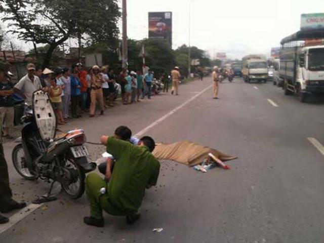 Đặc sản xứ Thanh: rải đinh bẫy xe trên đường quốc lộ