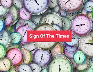 Lirik dan arti Sign Of The Times