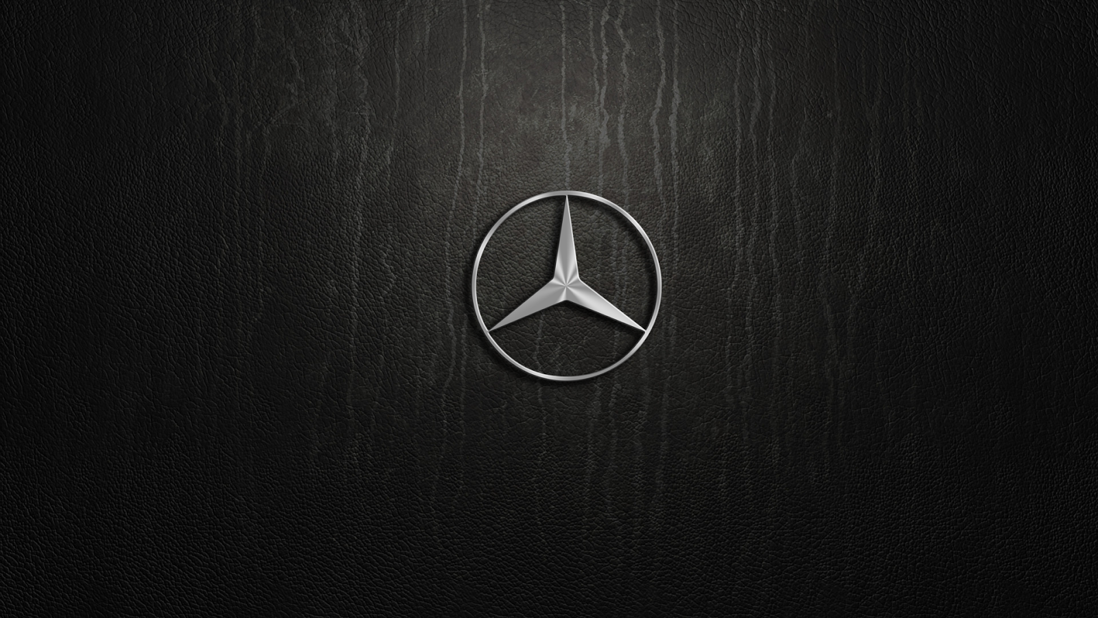 Mercedes Benz Logos In Black Background Mercedes Benz Logos