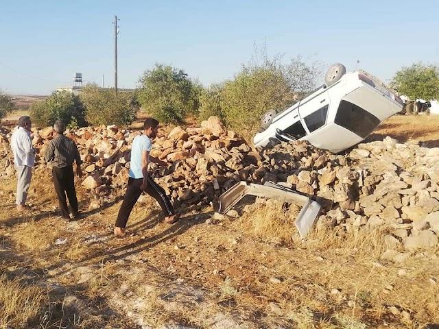 Bozova kırsalında trafik kazası