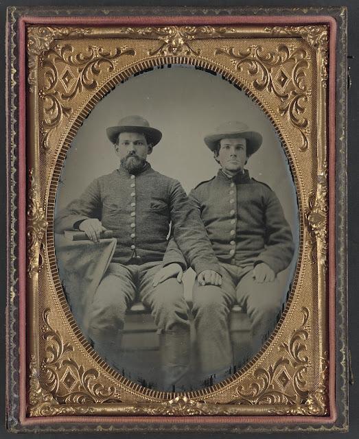 24 Rare Studio Portraits of Union and Confederate Soldiers