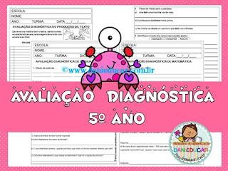 avaliação, Avaliação diagnóstica, 5º ano, Sondagem,