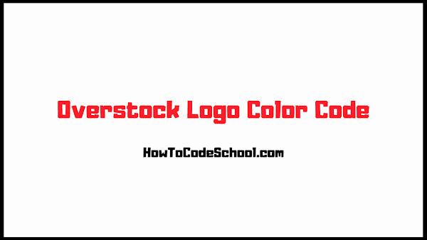 Overstock Logo Color Code