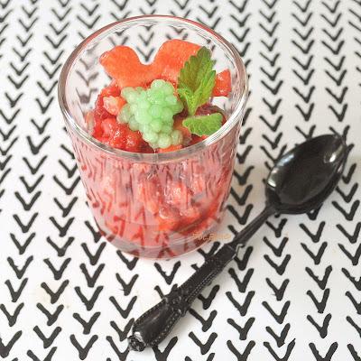 Erdbeer-Tatar