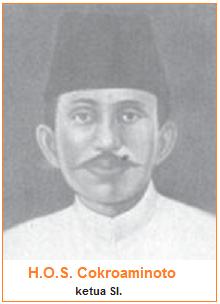 H.O.S. Cokroaminoto - Ketua Sarekat Islam