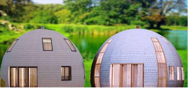kopułowe domy - DOME HOMES - dome house copula