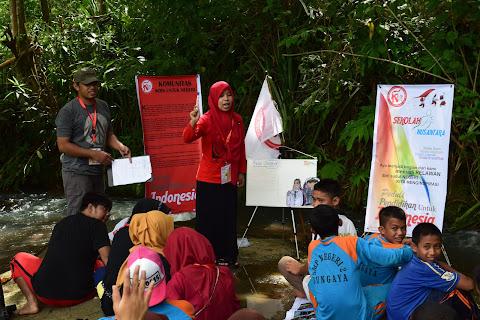 Menginspirasi dari Bantaran Sungai Dusun Moncongang