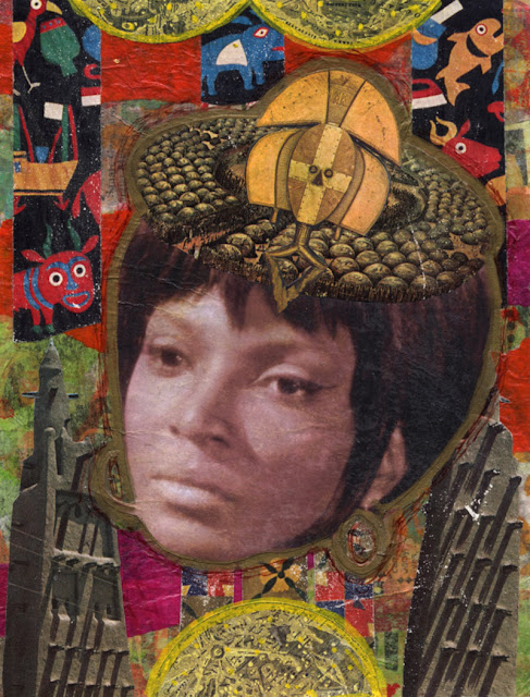 Celebrity Icon collage -- Uhura from Star Trek