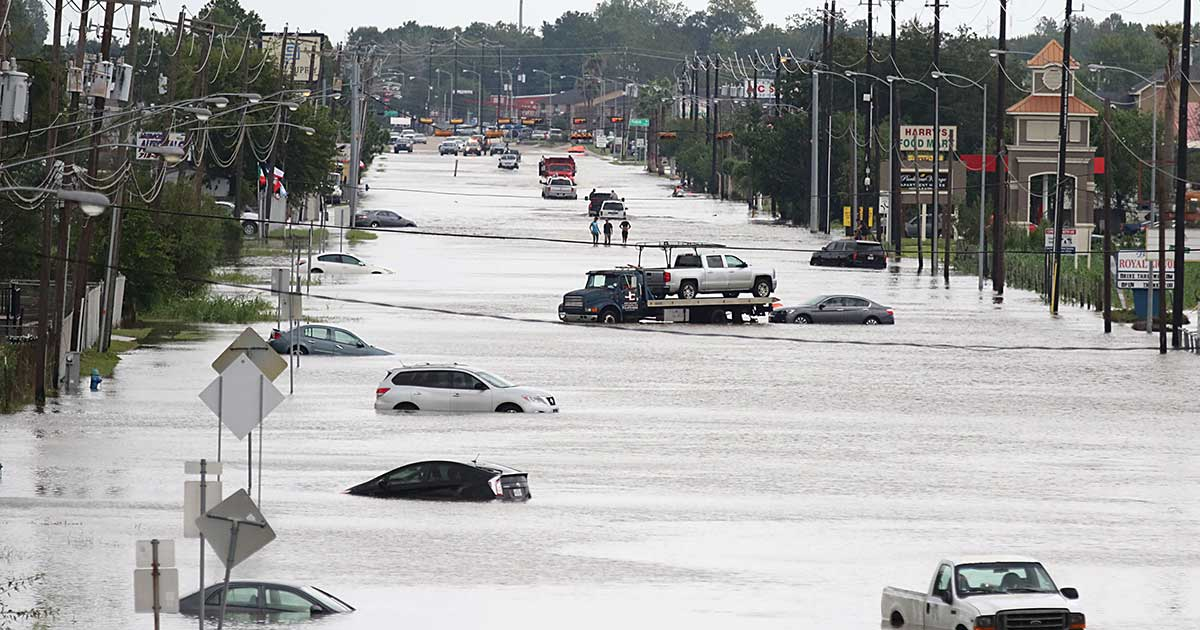 Extreme Flooding in Houston, Texas