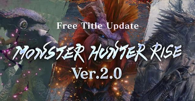 Monster Hunter Rise (Switch) revela informações sobre atualizações gratuitas