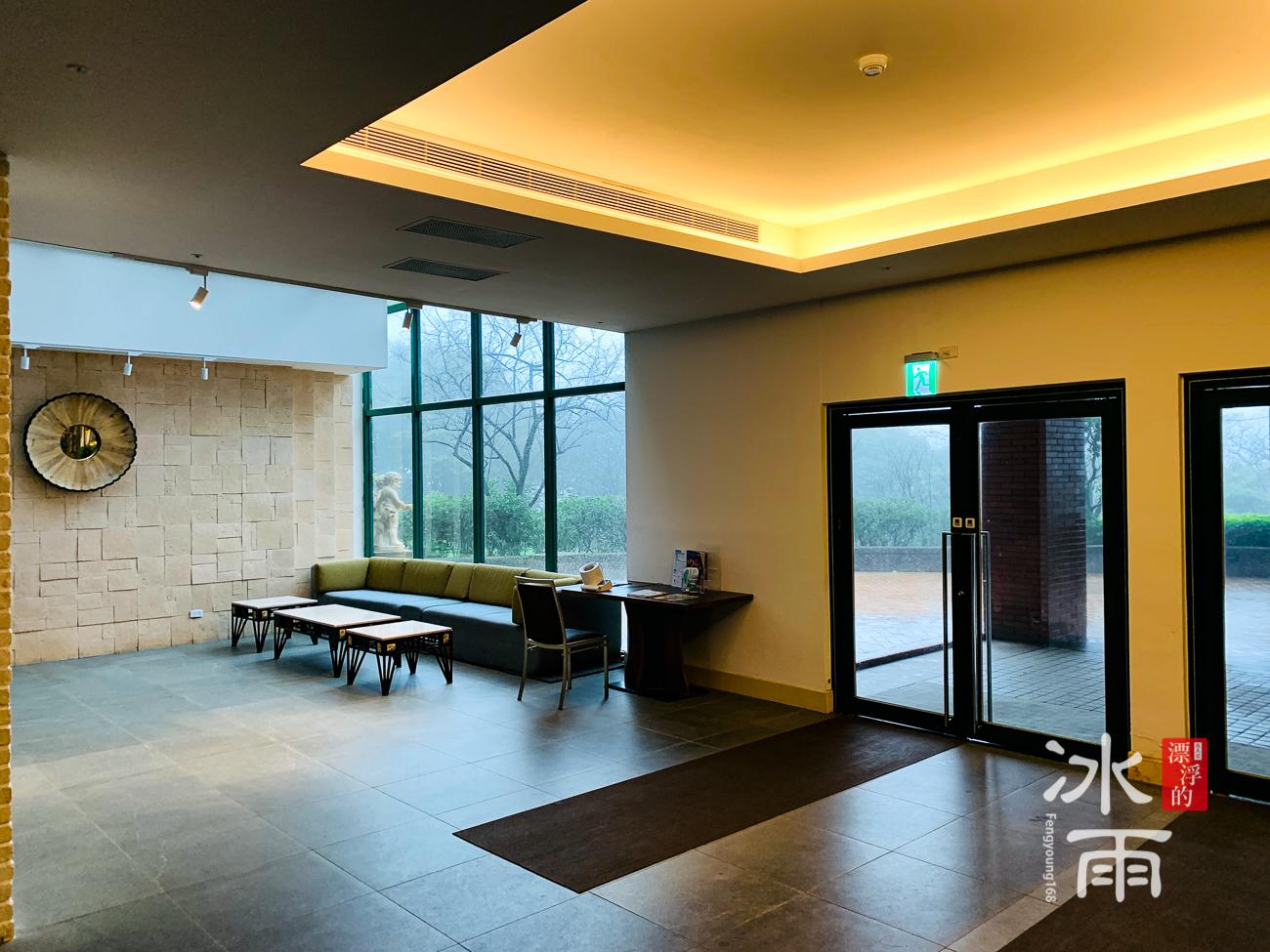 陽明山天籟渡假酒店|櫃檯前的風景