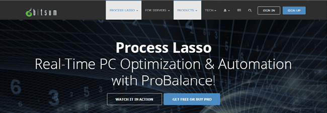 Bitsum Process Lasso Review