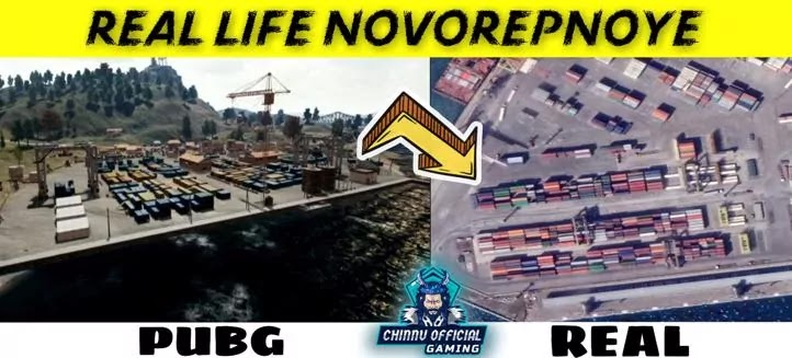 Pubg places in real life,