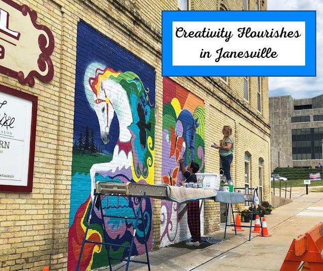 Creativity Flourishes at Janesville's Art Infusion