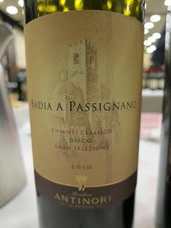 Antinori Badia A Passignano Gran Selezione Chianti Classico 2010 - DOCG, Tuscany, Italy (91 pts)