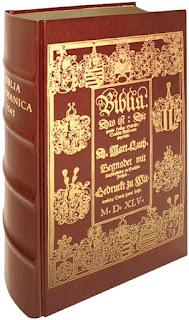 Faksimile der deutschen Luther-Bibel von 1545 - Biblia Germanica