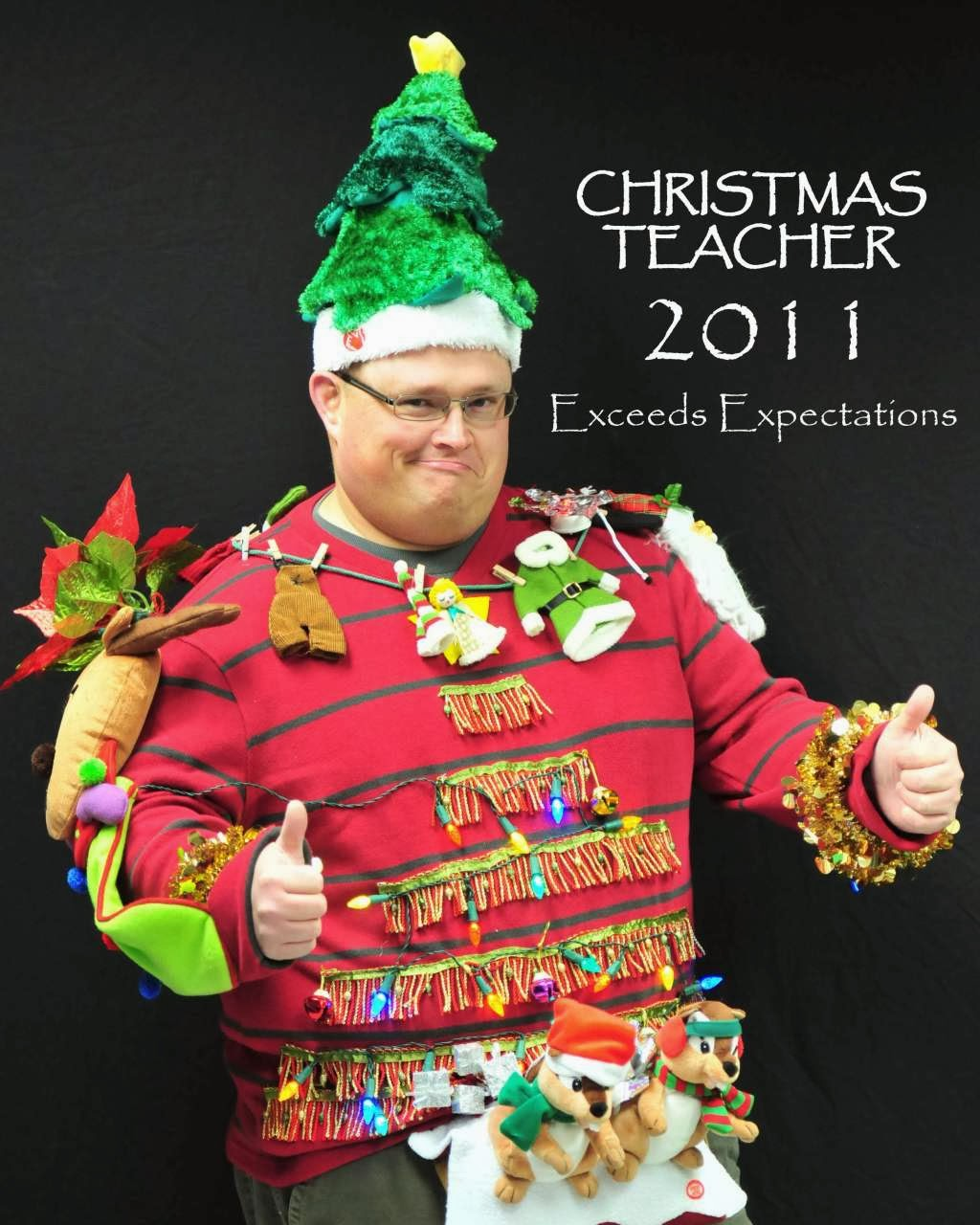 ugliest Christmas fashion