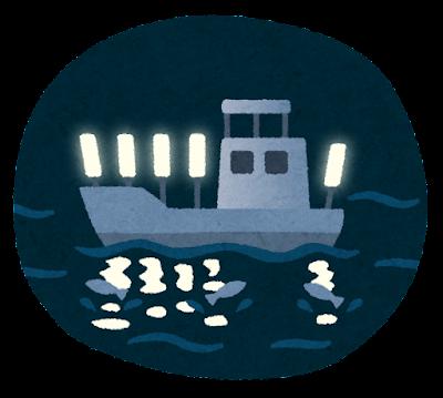 集魚灯のイラスト