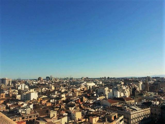 Miguelete vista panoramica Valencia
