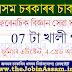 Forensic Science Assam Recruitment 2021: 07 Junior Assistant, Grade IV & Cook Vacancy