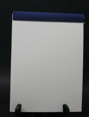 Carnet papier vergé