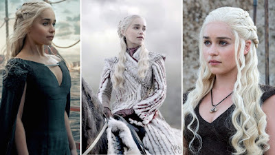 Game of Thrones: Los 9 desnudos de Daenerys Targaryen