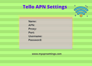 Tello APN Settings 4G LTE