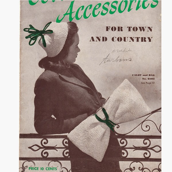 Spool Cotton Pattern Book 180, Accessories for Town and Country