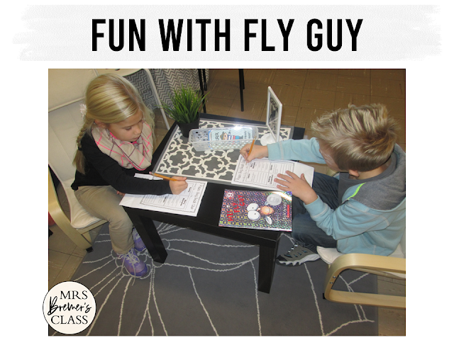 Our class LOVES the Fly Guy book series by Tedd Arnold. We've had fun with these reading and standards based book study activities!